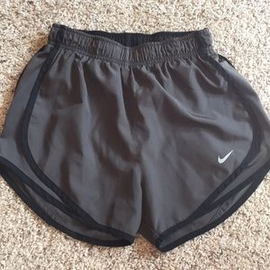 Dark Grey Nike Dri-Fit shorts